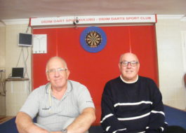 Passion for darts flies high in Didim