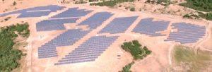 Solar energy farm in full swing